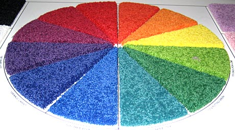 Carpet Color Palette